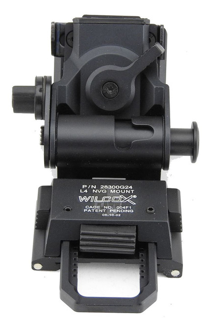 Wilcox Type Nvg Mount Helmet Night Goggles Ops Core Fma Pvs  Black L4