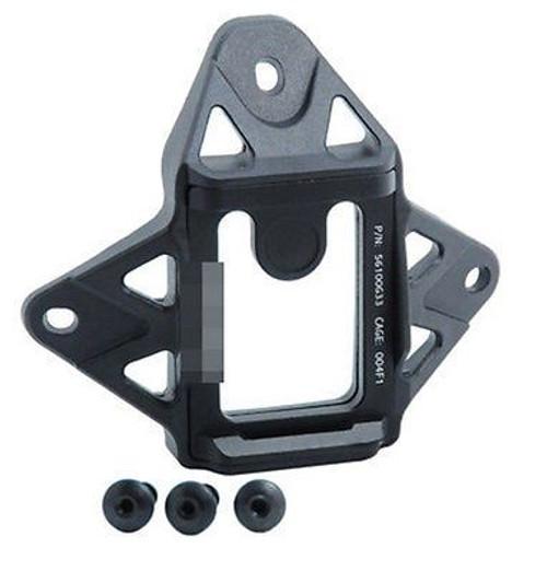 Af Core Ops Mich Black Helmet Shroud 3 Hole Mount  Metal  Airframe Style Vas