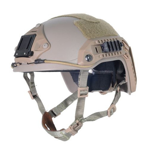 Ops Core Tan Sand De Swat Tactical Maritime Abs Helmet Jump Rail M/L