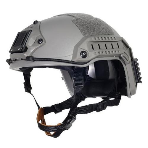 Ops Core Green Od Fg Swat Tactical Maritime Abs Helmet Jump Rail L/Xl