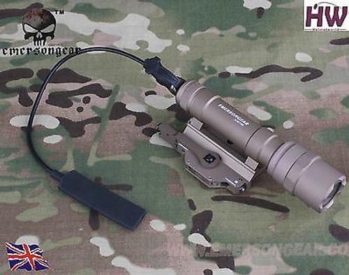 Cree Pressure Pad M620U Weapon Light Surefire Ultra Scout Style Tan Uk