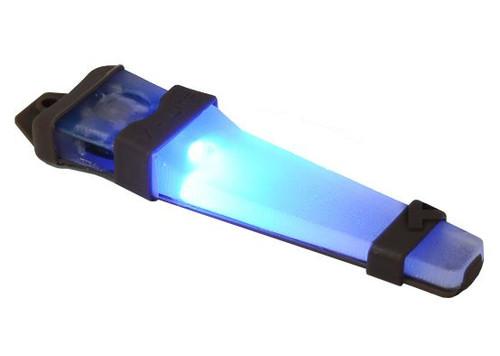 V-Lite Led Safety Light Blue Helmet V Lite E Lite E-Lite Tan