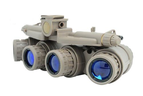 Dummy Quad Night Vision Goggles Tan Sand De Brown Gpnvg 18 Uk Nvg