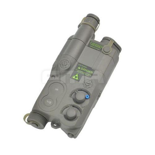 Dummy An/Peq16 Battery Box Case Green Lipo Nimh Aeg Ris Ras Rail Peq 16