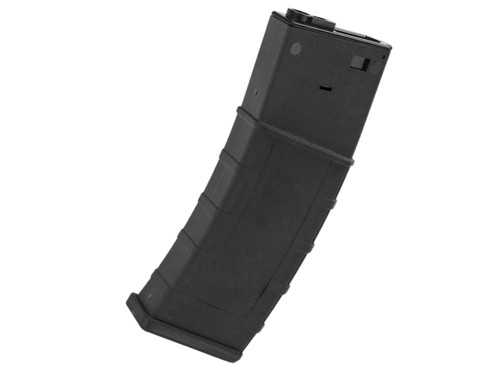 M4 M16 Scar Plastic Black Lonex Flash P Magazine 360Rds Asg Pull Cord