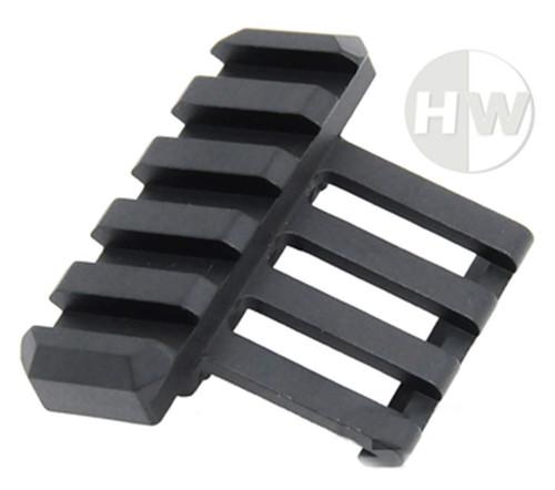 Side Torch Rail Mount Angle M4 M16 Black Metal One Oclock Offset Uk