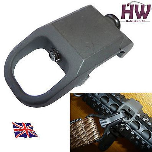 Style Rail Sling Attachment Point Mount Steel 20Mm Uk