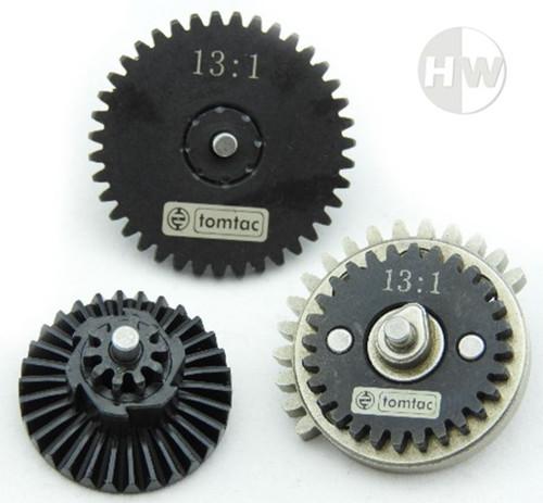 High Speed 13:1 Gear Set M4 Ak47 V2 V3 High Density Steel Gearbox Cogs