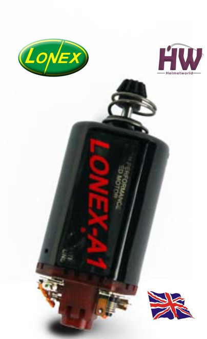 Aeg Motor High Speed Torque Lonex A1 Red Short M170 M140 M120 Ak47 V3