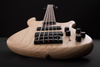 Cort B5 Plus Left Hand 5 String Bass Open Pore Swamp Ash