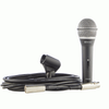 Smart Acoustic SDM100C Dynamic Microphone With Free XLR Cable