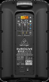 Behringer Eurolive B112MP3 Active Speaker with MP3 Player