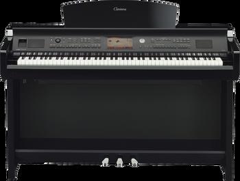Yamaha CVP705PE Clavinova Digital Piano Front