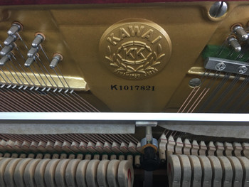 Kawai BL61 1017821 Upright 132cm Mahogany Secondhand Piano (1978)