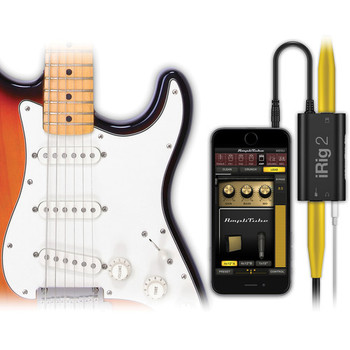 IK Multimedia iRig 2 Guitar Interface for iOS, Mac and Android