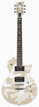 LTD WA-200 Will Adler White Camo Signature Electric Guitar