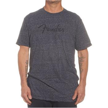 Fender Logo T-Shirt Medium-Dark Grey