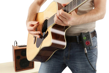 IK Multimedia iRig Acoustic Stage Pickup System and Interface