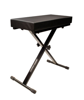 JamStands Large Keyboard Bench (JS-LB100) 3/4 View