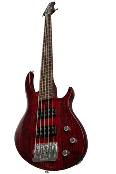 Gibson EB Bass 5 String 2019 Wine Red Satin