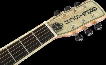 Gretsch G9221 Bobtail™ Steel Round-Neck A.E., Steel Body Spider Cone Resonator Guitar, Fishman® Nashville Resonator Pickup