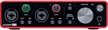 Focusrite Scarlett 2i2 3rd Gen 2-in/2-out USB Audio Interface