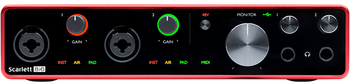 Focusrite Scarlett 8i6 3rd Gen 8-in/6-out USB Audio Interface