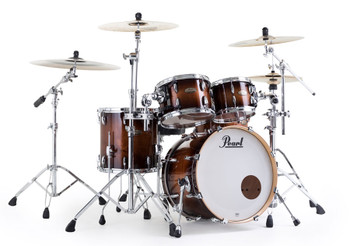 Snare, cymbals and hardware not included