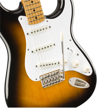 Squier Classic Vibe 50's Stratocaster 2 Colour Sunburst With Maple Fingerboard