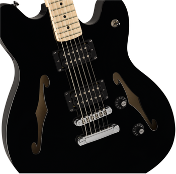 Squier Affinity Series Starcaster Black With Maple Fingerboard