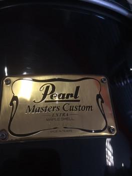 "Ex-hire Pearl Masters Maple 13 x10"" rack tom - Black"
