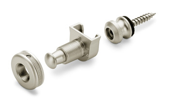 Schaller S-Lock Strap Locks Satin Pearl