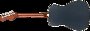 Fender California Series Malibu Player, Walnut Fingerboard, Midnight Satin