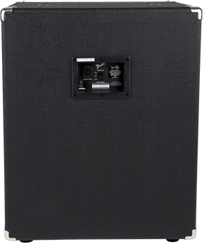 Fender Rumble™ 210 Cabinet, Black and Silver