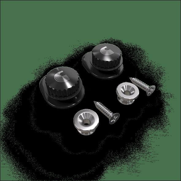 D'Addario Planet Waves Universal Strap Lock System - Black, Gold or Nickel