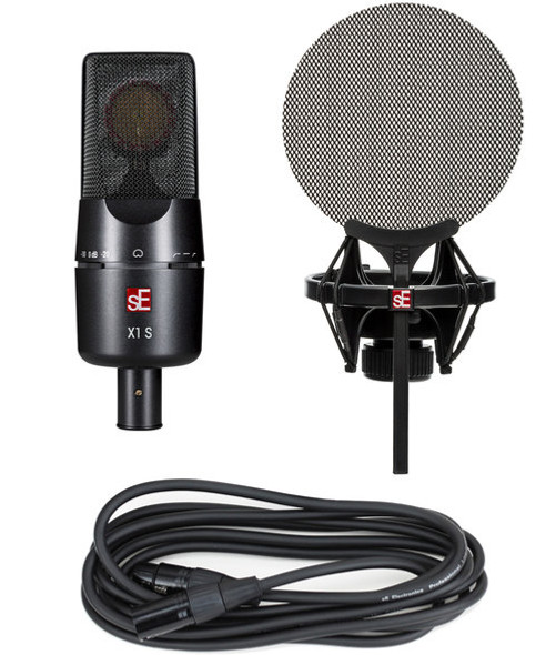 sE Electronics X1 S Condenser Microphone Vocal Bundle