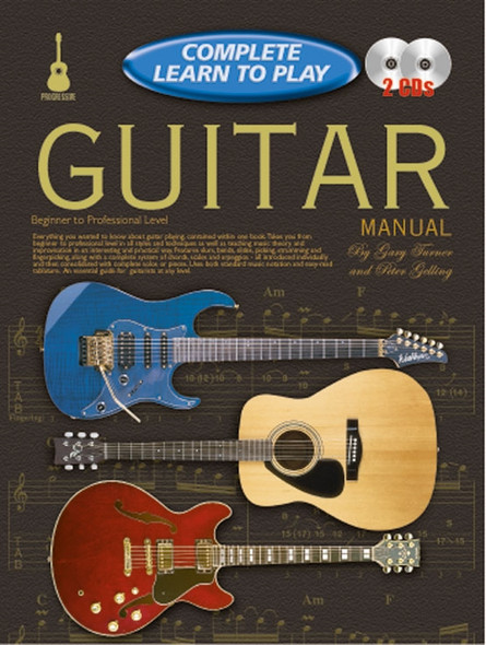 Progressive Complete Learn to Play Guitar Manual Bk/CD