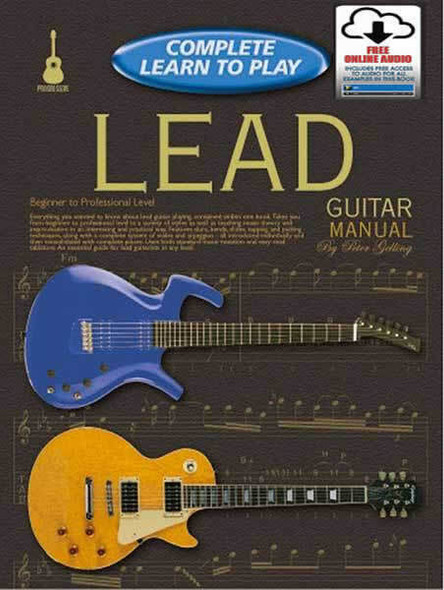 Progressive Complete Learn to Play Lead Guitar Manual Bk/OA