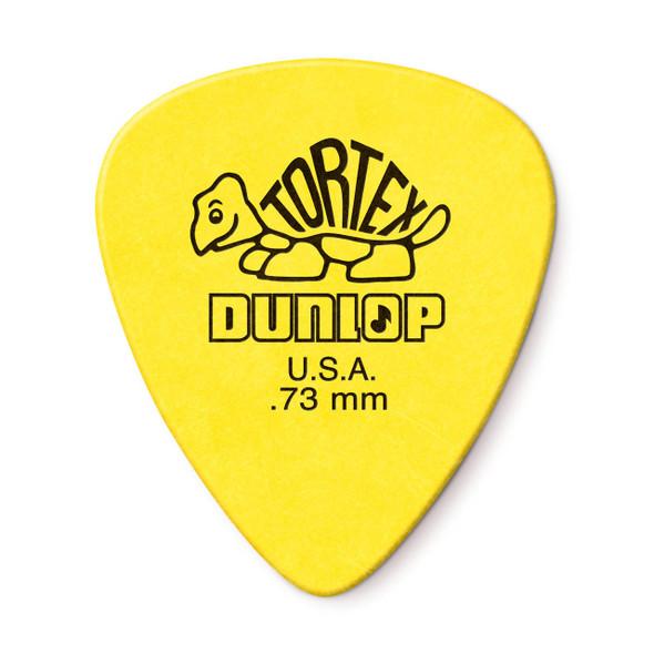 Dunlop 0.73MM Tortex Standard Picks 12-Pack