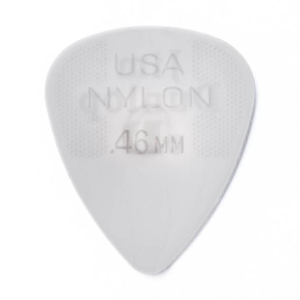 Dunlop 0.46MM Nylon Standard Picks 12-Pack