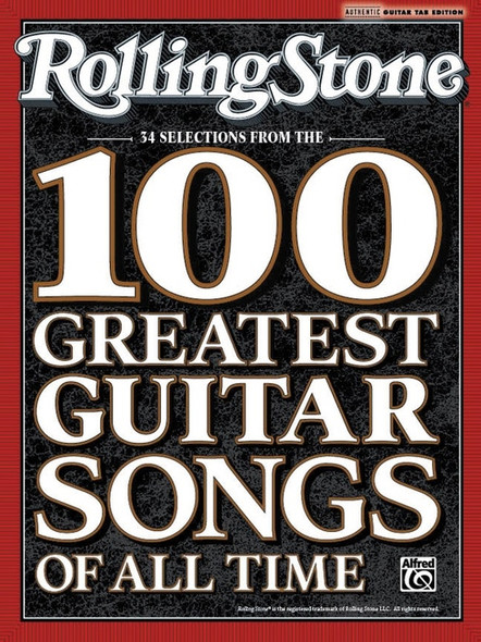 Rolling Stone Selections from 100 Greatest Guitar Songs of All time Guitar TAB