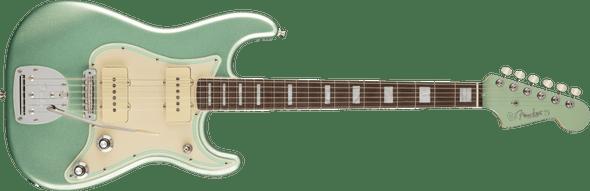 Fender Parallel Universe II Jazz Strat®, Rosewood Fingerboard, Mystic Surf Green