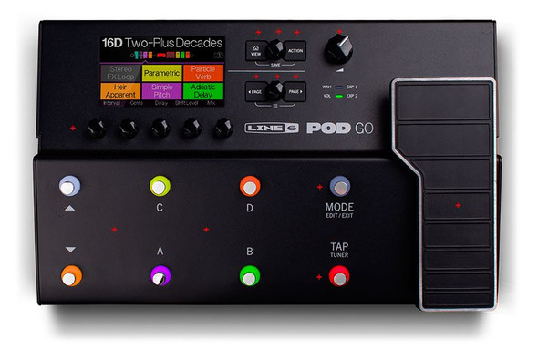 Line 6 Pod Go Portable Professional Guitar Processor