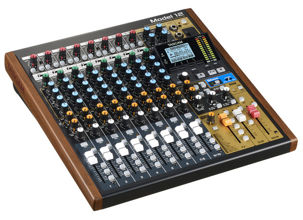 Tascam Model 12 Mixer Multitrack Interface 12 Channel M12