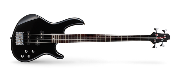 Cort Action Bass Plus BK 4 Gloss Black Bass Guitar
