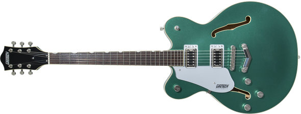 Gretsch G5622LH Electromatic® Center Block Double-Cut with V-Stoptail, Left-Handed, Laurel Fingerboard, Georgia Green