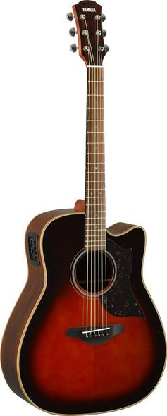 Yamaha A1R Acoustic Guitar - Brown Sunburst