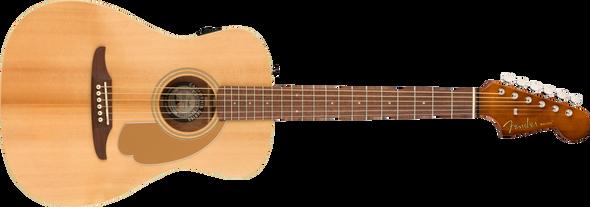 Fender Malibu Player, Walnut Fingerboard, Natural