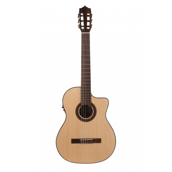 Katoh MCG40SEQ Cutaway Classical Guitar with Fishman Pickup - Solid Spruce Top