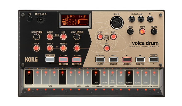 Korg Volca Drum - Digital Percussion Synthesizer